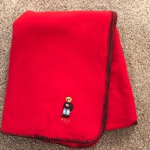 Ralph Lauren Polo Bear Blanket